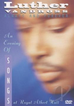 Luther Vandross - An Evening of Songs DVD Cover Art