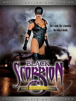 Black Scorpion - The Complete Television Series DVD Cover Art