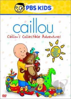 Caillou - Caillou's Collectible Adventure DVD Cover Art