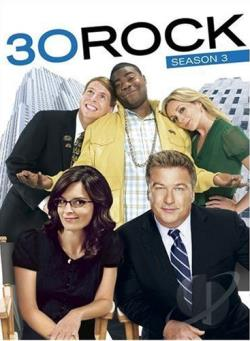 30 Rock - The Complete Third Season DVD Cover Art