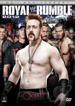 WWE: Royal Rumble 2012 DVD Cover Art
