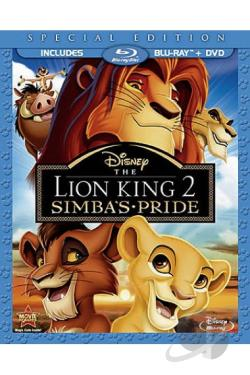 Lion King II: Simba's Pride BRAY Cover Art