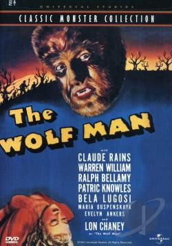 Wolf Man DVD Cover Art