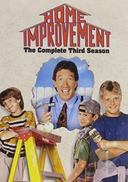 Home Improvement - The Complete Third Season DVD Cover Art