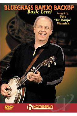 Pete Wernick - Bluegrass Banjo Backup DVD Cover Art
