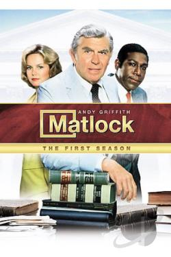Matlock - The Complete First Season DVD Cover Art