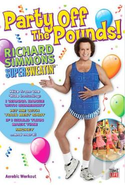 Richard Simmons - Supersweatin': Party off the Pounds! DVD Cover Art