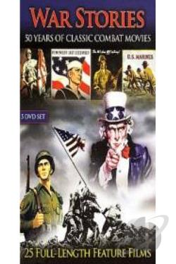 War Stories - 50 Years of Classic Combat Movies DVD Cover Art