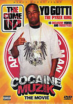 Come Up, Vol. 21: Cocaine Muzik - The Movie DVD Cover Art