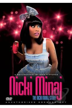Nicki Minaj: The Nicki Manaj Story - Unauthorized DVD Cover Art