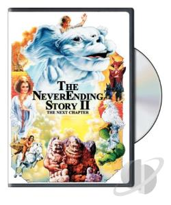 Neverending Story 2: The Next Chapter DVD Cover Art