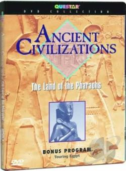 Ancient Civilizations: The Land of the Pharoahs DVD Cover Art