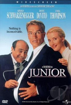 Junior DVD Cover Art