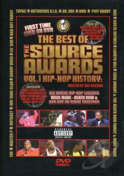 Best of The Source Awards Vol. 1 - Hip - Hop History DVD Cover Art