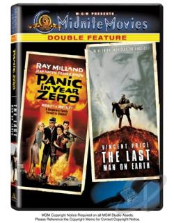 Panic in Year Zero/Last Man on Earth DVD Cover Art