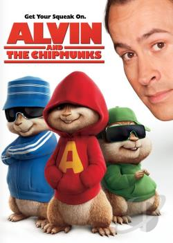 Alvin & The Chipmunks DVD Cover Art