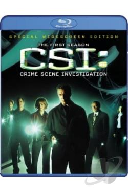 CSI - Crime Scene Investigation - The Complete First Season BRAY Cover Art