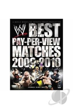 WWE: The Best PPV Matches of Year 2009-2010 DVD Cover Art