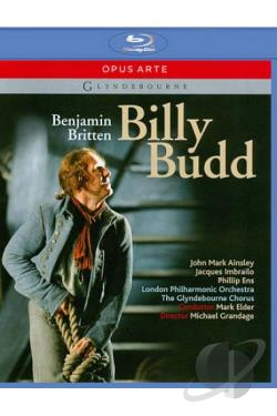 Billy Budd (Glyndebourne) BRAY Cover Art