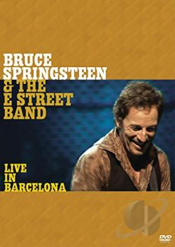 Bruce Springsteen & the E Street Band - Live in Barcelona DVD Cover Art