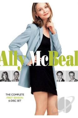Ally McBeal - The Complete First Season DVD Cover Art