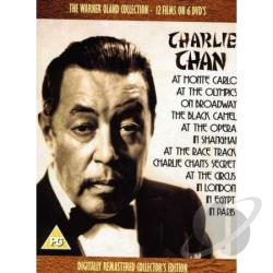Charlie Chan: Warner Oland Collection DVD Cover Art