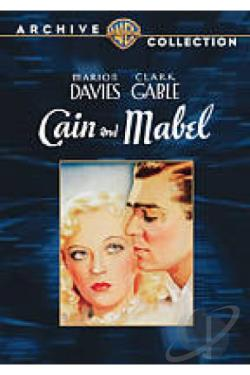Cain and Mabel DVD Cover Art