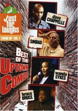 Just For Laughs - Stand - Up Vol. 1 - Best of the Uptown Comics DVD Cover Art