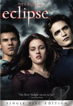 Twilight Saga: Eclipse DVD Cover Art