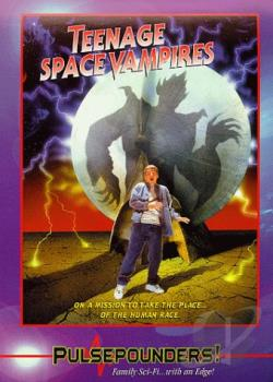 Teenage Space Vampires DVD Cover Art