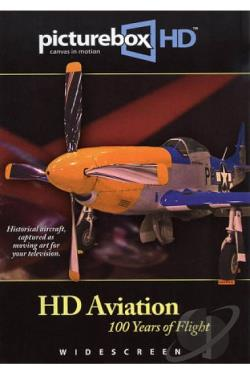 Picturebox HD: HD Aviation - 100 Years of Flight DVD Cover Art