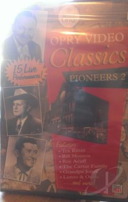 Grande Ole Opry, Vol. 5 - Pioneers DVD Cover Art