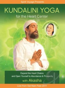 Kundalini Yoga for the Heart Center DVD Cover Art