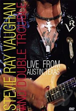 Stevie Ray Vaughan - Live from Austin, Texas DVD Cover Art