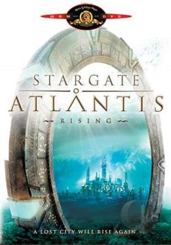 Stargate: Atlantis - Pilot Episode DVD Cover Art