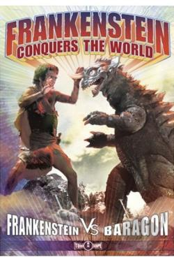 Frankenstein Conquers the World DVD Cover Art