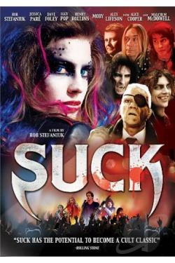Suck DVD Cover Art