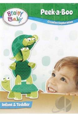 Brainy Baby - Peek-A-Boo DVD Cover Art