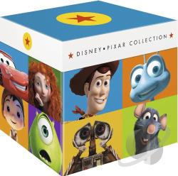 Disney-Pixar Collection BRAY Cover Art