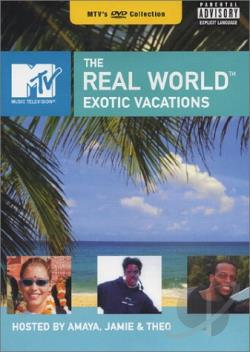 MTV's The Real World - Exotic Vacations DVD Cover Art