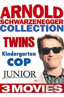 Arnold Schwarzenegger: Comedy Favorites Collection DVD Cover Art