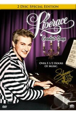 Liberace - Greatest Songs DVD Cover Art
