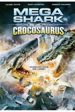 Mega Shark Vs. Crocosaurus DVD Cover Art