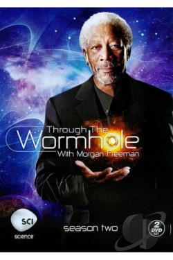 Through The Wormhole With Morgan Freeman - The Complete Second Season DVD Cover Art