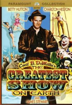 Greatest Show on Earth DVD Cover Art