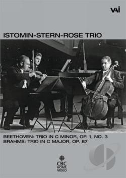 Istomin-Stern-Rose Trio - Beethoven Op. 1 #3 DVD Cover Art