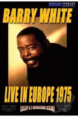 Barry White - Live in Europe 1975 DVD Cover Art