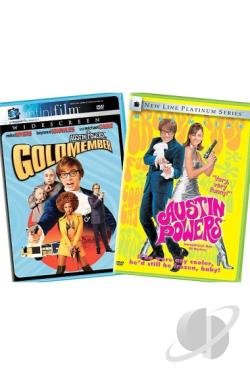 Austin Powers: Goldmember/Austin Powers: International Man of Mystery DVD Cover Art