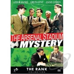 Arsenal Stadium Mystery DVD Cover Art