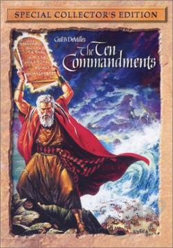 Ten Commandments DVD Cover Art